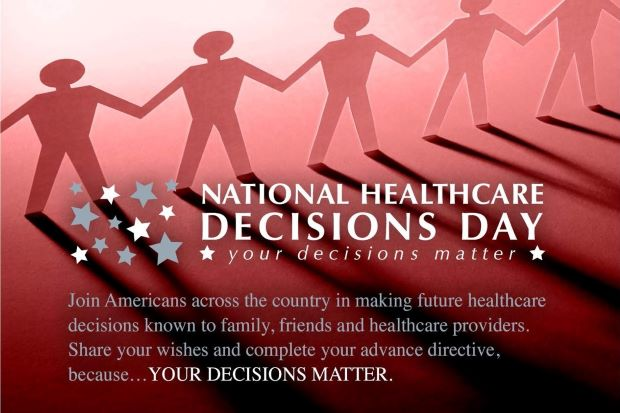 National Healthcare Decisions Day April 16