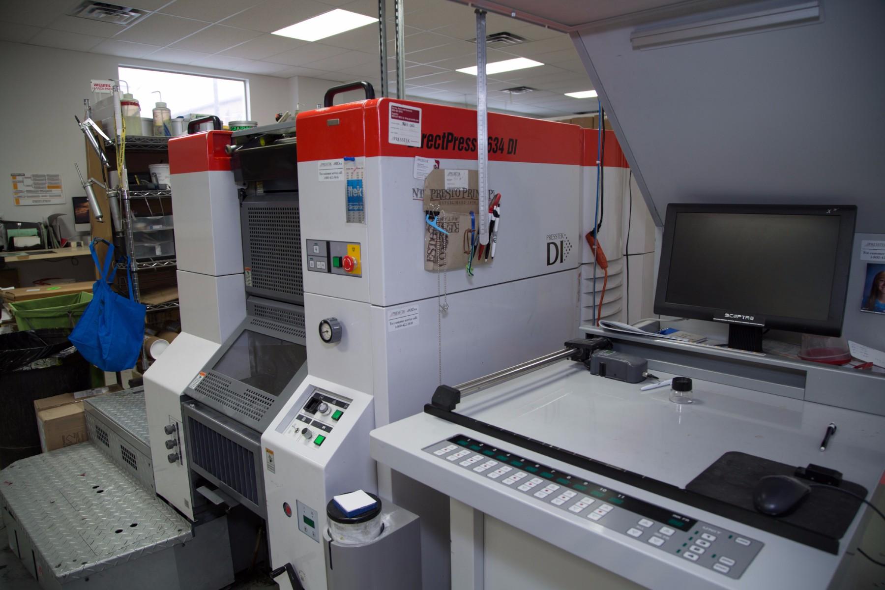 offset printing machine in salt lake city