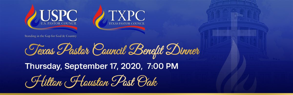 Texas Pastor Council Benefit Dinner