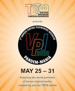 TBTB's 2020 1st Annual Virtual Playmakers' Intensive: Pandem-Mania! A picture of the new logo of TBTB's 2020 first annual virtual playmakers intensive. The event name is Pandem-Mania and the logo has details at the bottom of it.