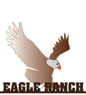 M7616 - Eagle Ranch, Silhouette  Iron Sign