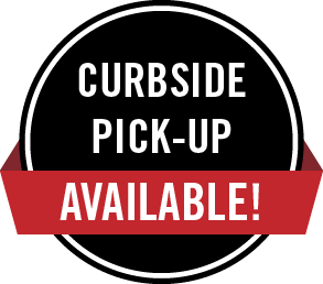 Curbside Pick-Up Available