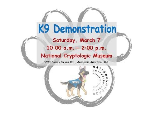 K9 demonstration to celebrate National K9 Veterans Day