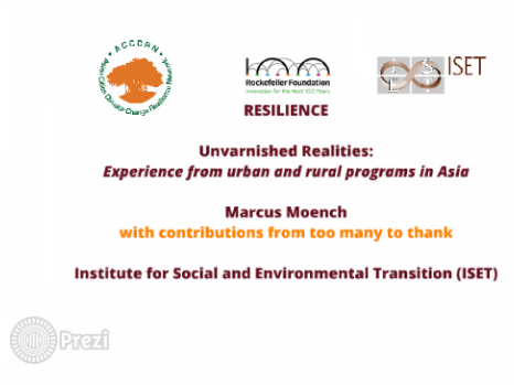 Unvarnished Realities: Experiences From Urban and Rural Programs in Asia