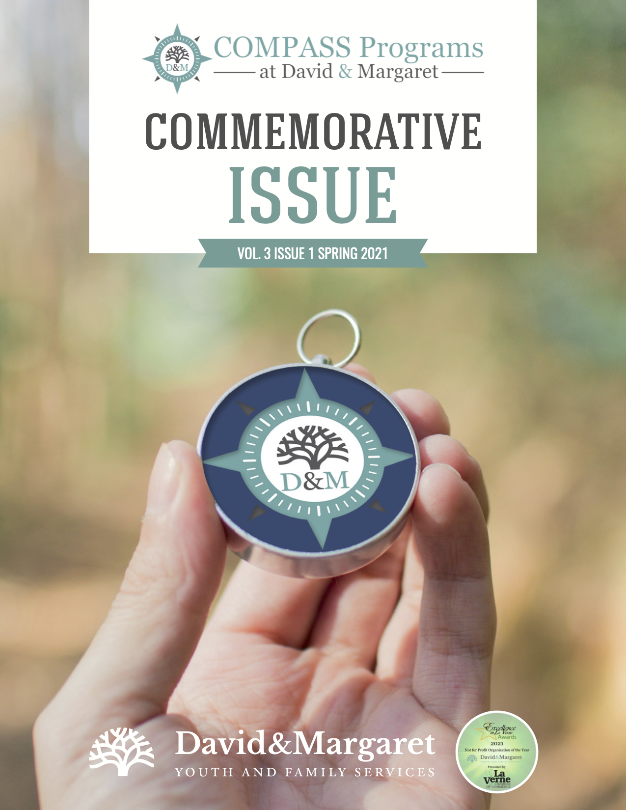 David & Margaret Quarterly Newsletter Vol. 3 Issue 1; COMPASS Programs Commemorative Issue