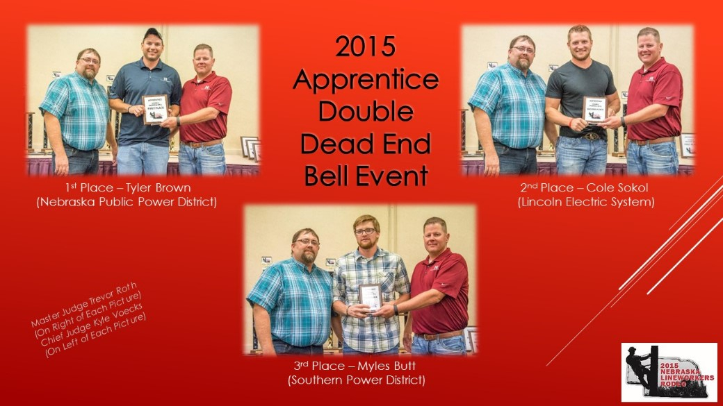 2015 Apprentice Double Dead End Bell