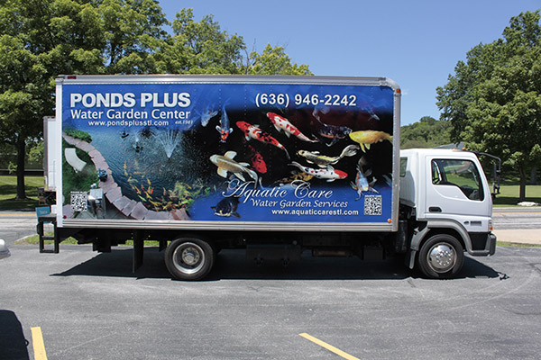 Ponds Plus Box Truck 2