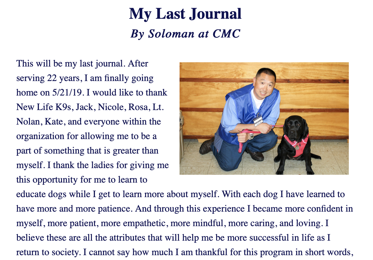 My Last Journal