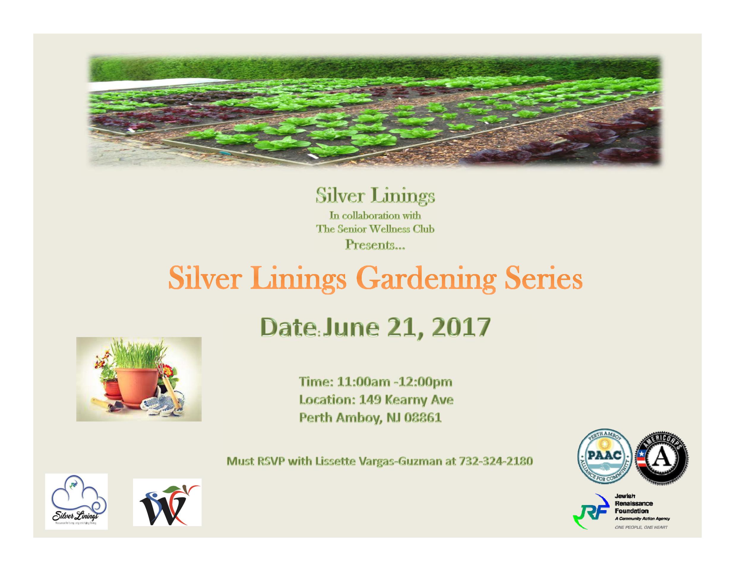Silver Linings Gardening Series