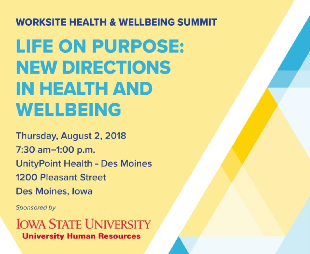 Iowa Health & Wellbeing Summit
