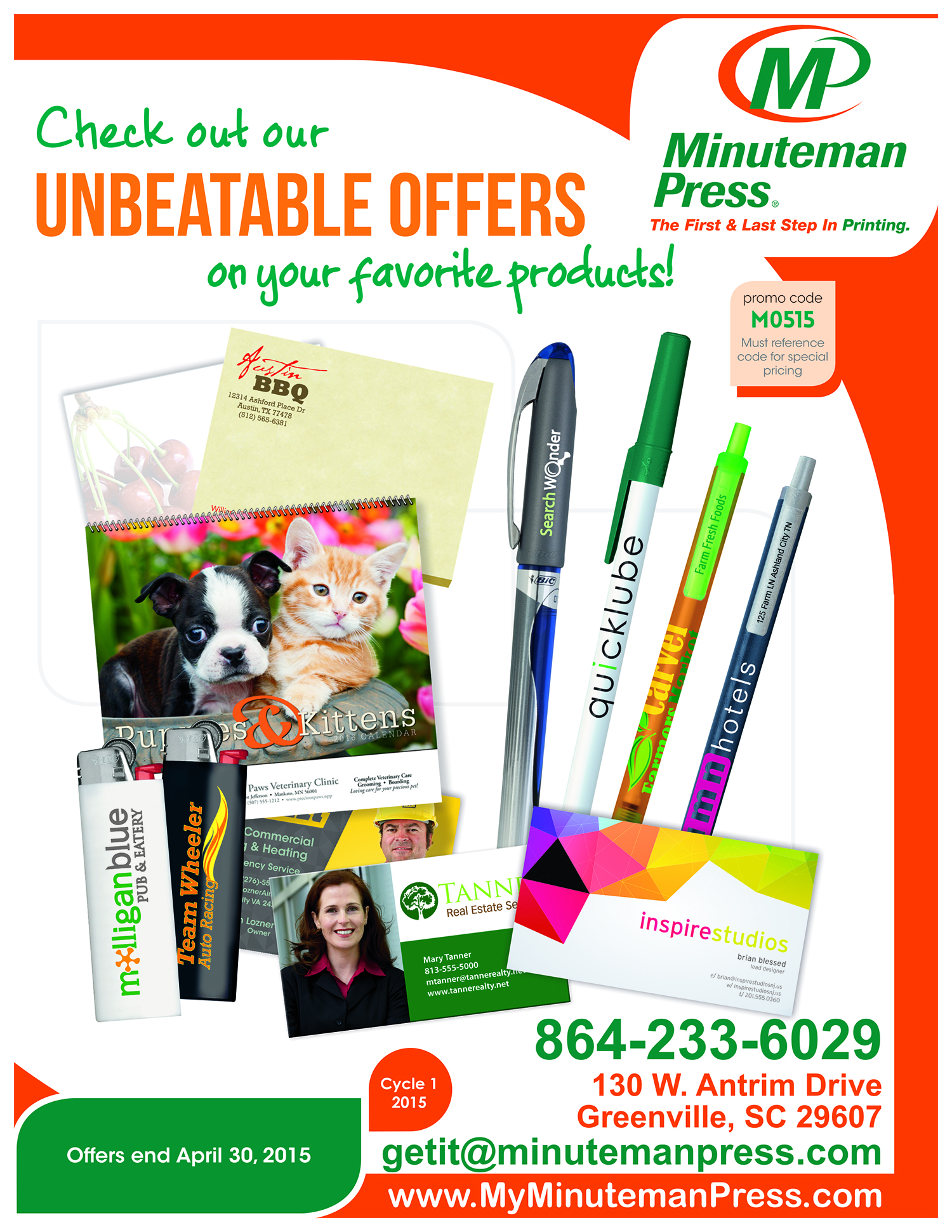 Download Our BIC Specials Catalog