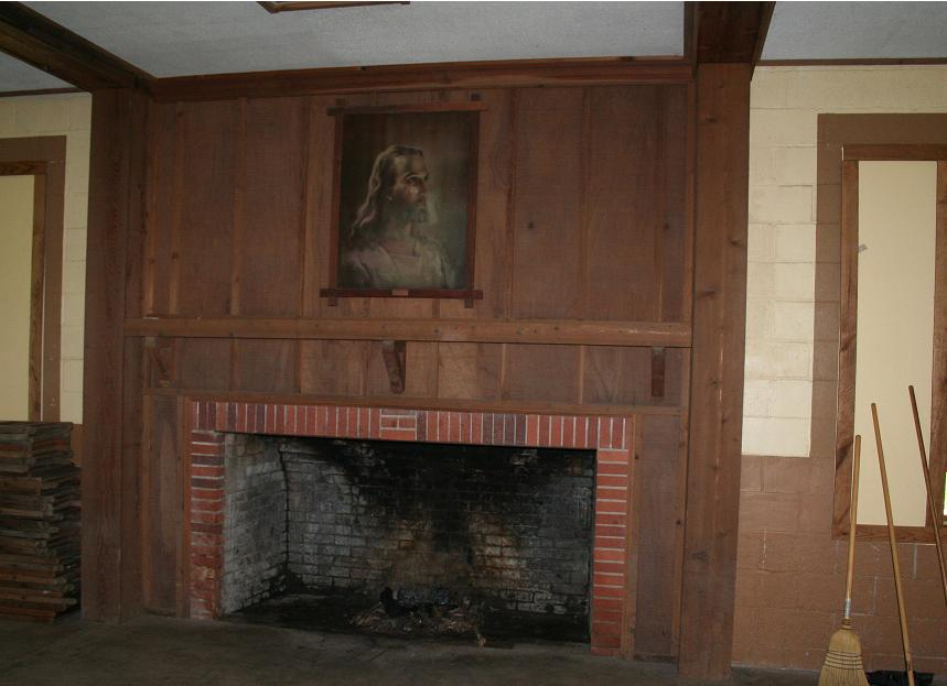 Rice Hall Fireplace