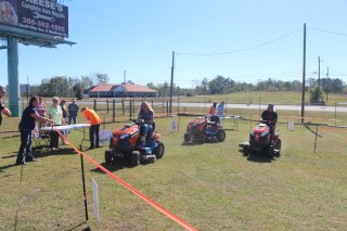 20th Annual Lawn Mower Race