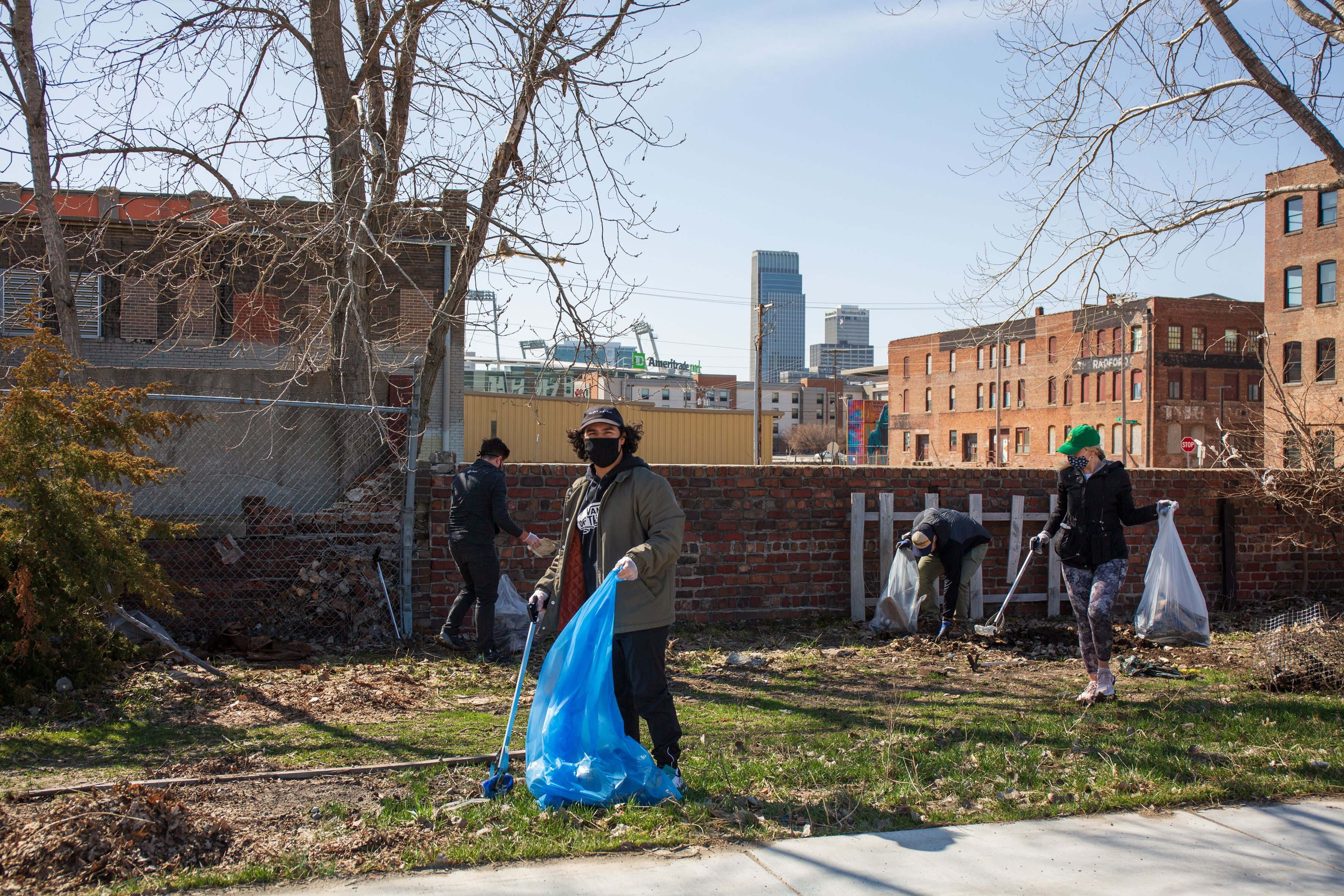 Downtown Omaha Cleanup