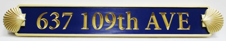 L21900 -  Engraved and 24K Gold-Leaf Gilded Text