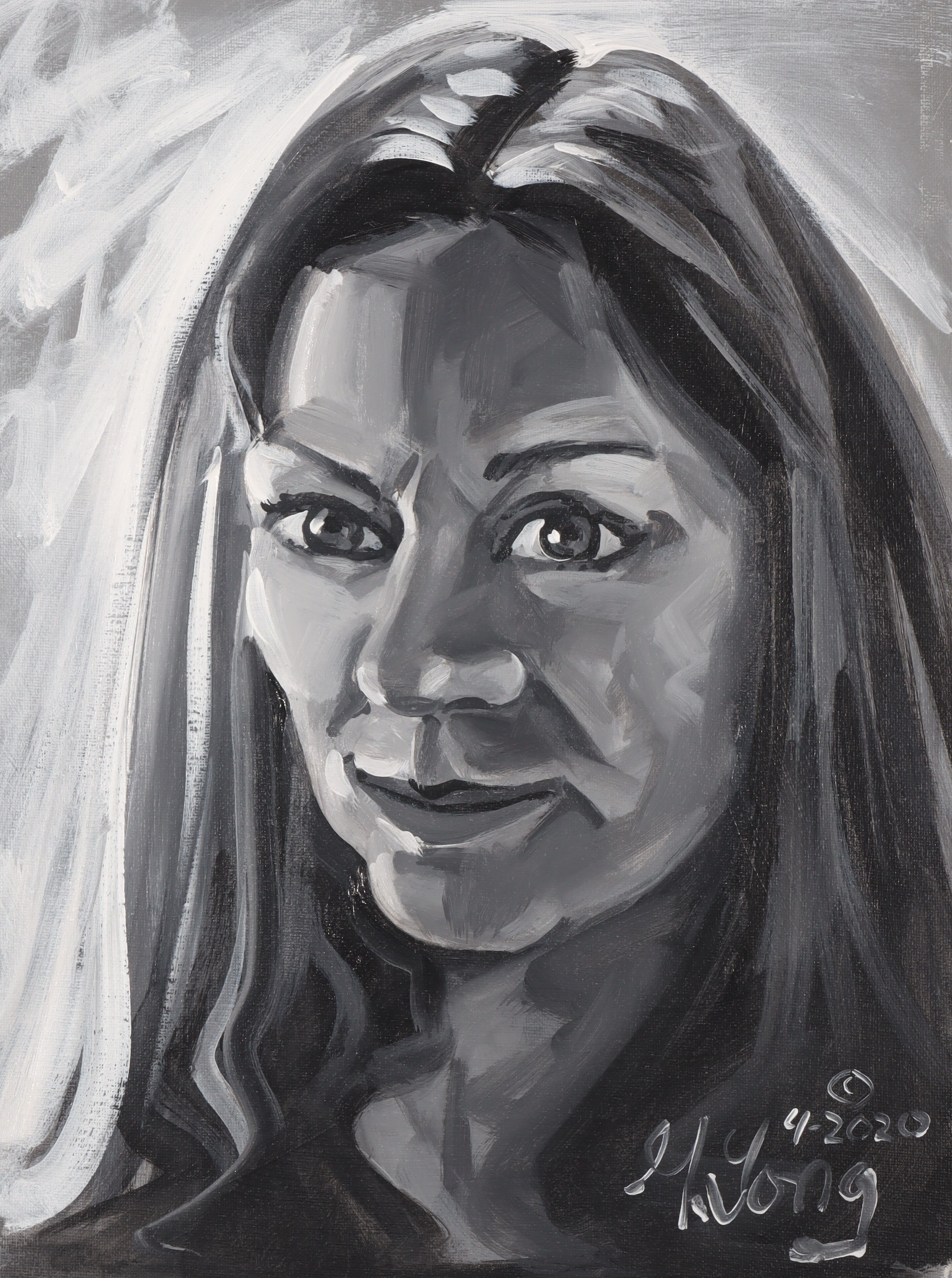 Artist: Gary Long, Acrylic on Canvas