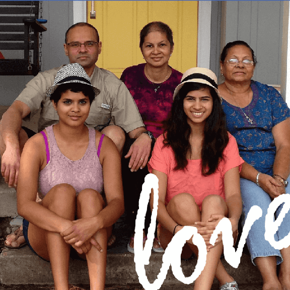 Faces of love: caregiver support