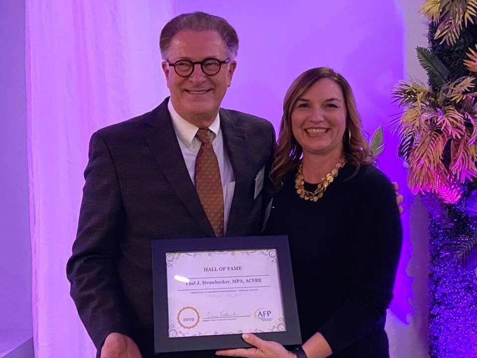 Paul J. Strawhecker, MPA, ACFRE Inducted into the AFP-Nebraska Fundraising Hall of Fame