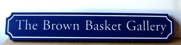 "SA28483 -Distinctive Sign for the ""Brown Basket""  Art Gallery."