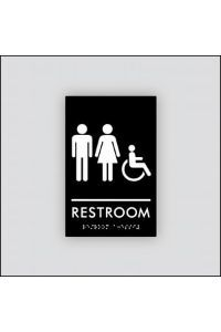 Unisex Restroom Accessible