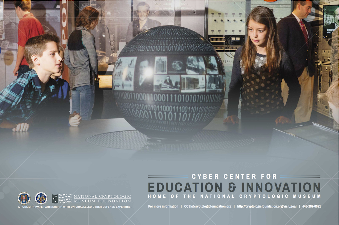 Interactive Education at the CCEI-National Cryptologic Museum