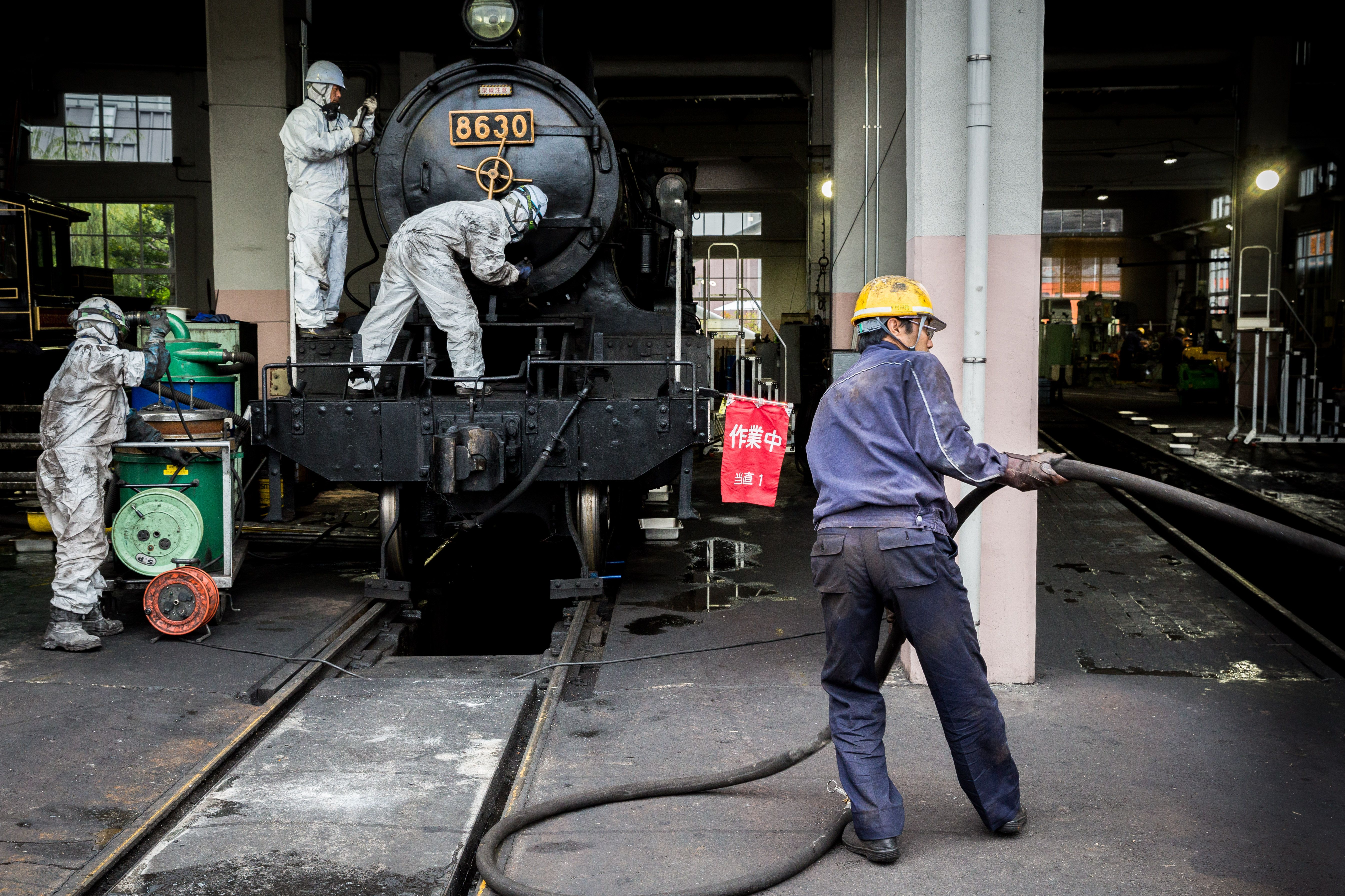Train Workers