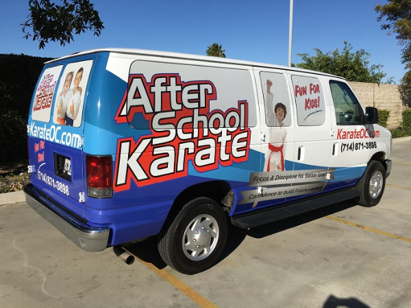 Van Wraps for businesses in Orange County CA