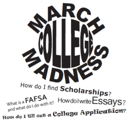 March College Madness at Scholarship Central Continues Monday!