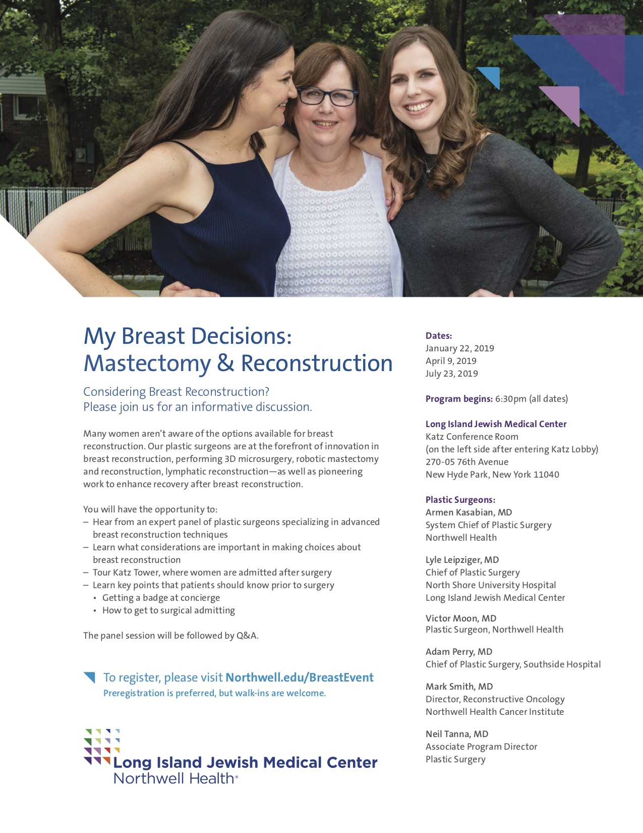 My Breast Decisions: Mastectomy & Recontstruction