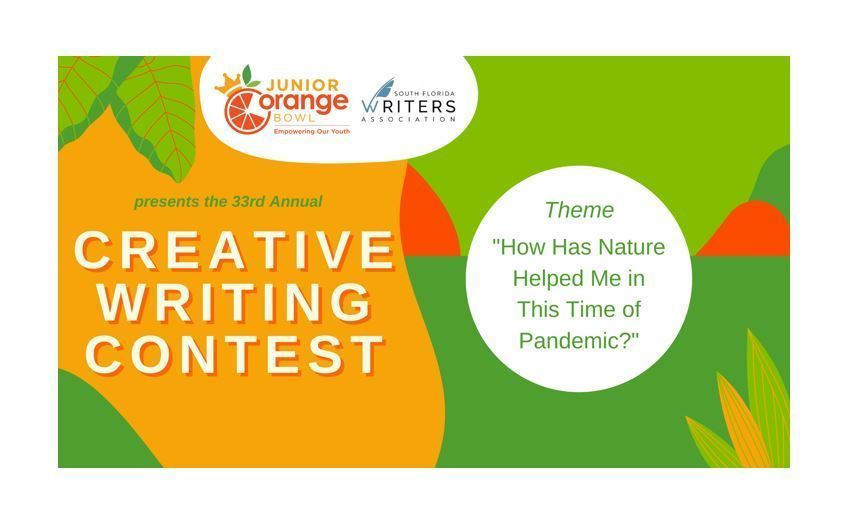 The 33rd Annual Creative Writing Contest
