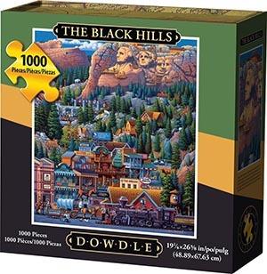 Black Hills Puzzle 1000 Piece Puzzle