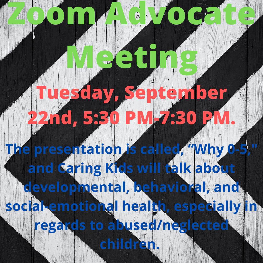 Zoom Advocate Meeting