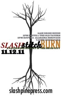 Slash Stitch Burn coming to Tuscaloosa