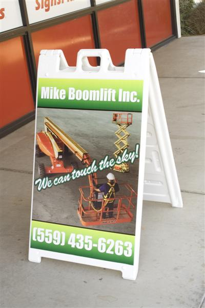Mike Boomlift A-Frame