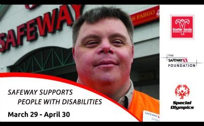 """Add """"Support Special Olympics"""" to Your April Grocery Shopping List!"""