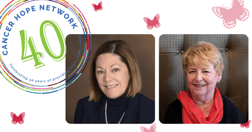 Cancer Hope Network celebrates 40 years of service; honors co-founders Diane Paul, RN, MS and Kris Luka, RN, BS