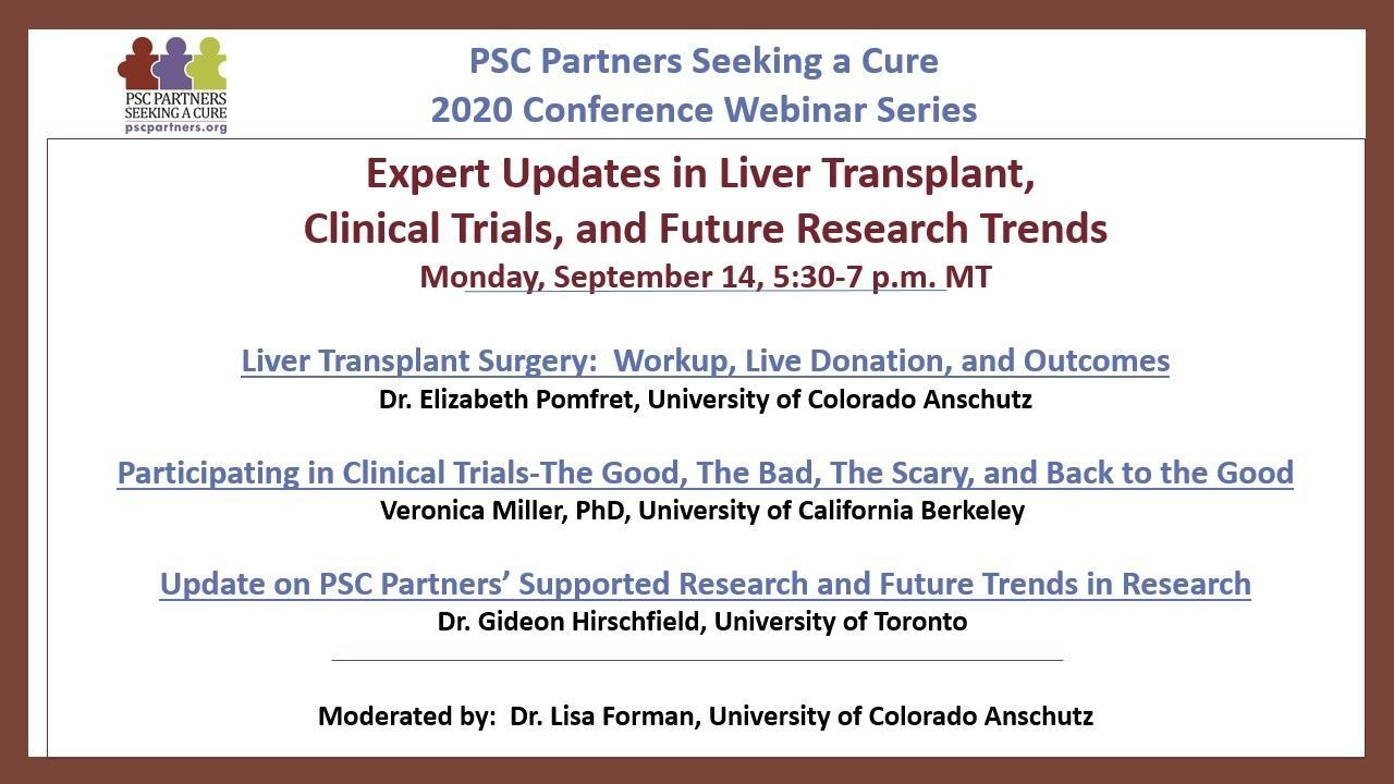 EXPERT UPDATES IN LIVER TRANSPLANT, CLINICAL TRIALS, AND FUTURE RESEARCH TRENDS