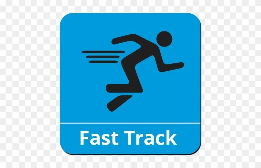 "Hop on the ""Fast Track"" with us!"