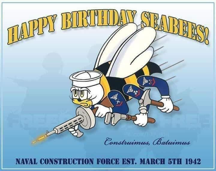 Seabee Birthday