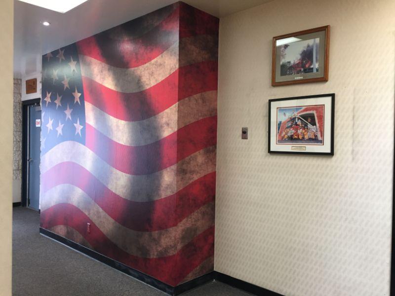 American Flag Wall Murals | Garden Grove CA