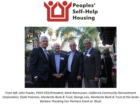 Peoples' Self-Help Housing Thanks its Partners with Central Coast Events