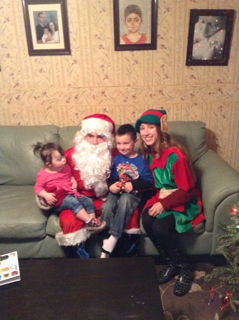 Visits from Santa were a Big Hit This Year!