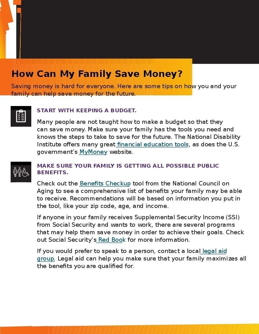 How Can My Family Save Money?