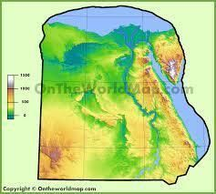 Topography of Egypt