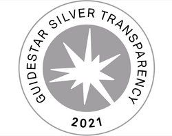 We earned a 2021 Silver Seal of Transparency from Guidestar!