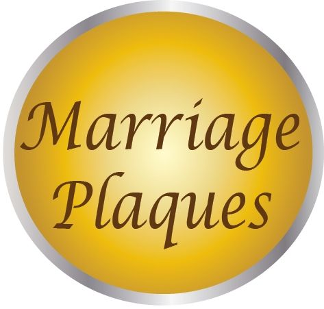 YP-1000 - Carved Marriage Celebration Plaques