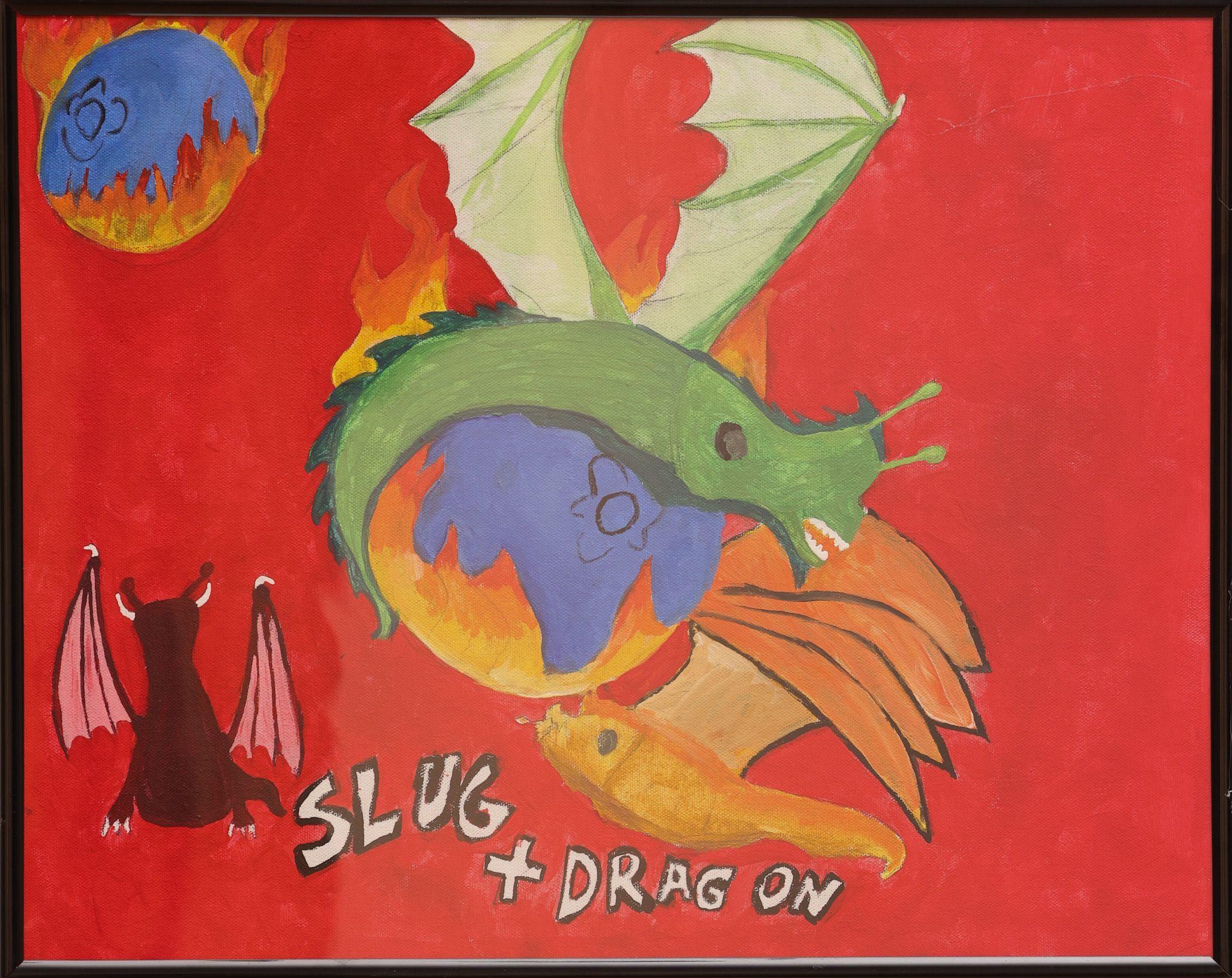 """Flaming Blueberries and Slug Dragons"" - Orsen Mike"