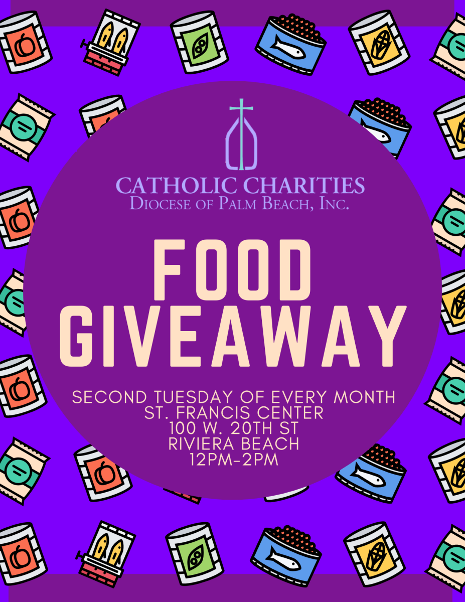 Monthly Food Giveaway