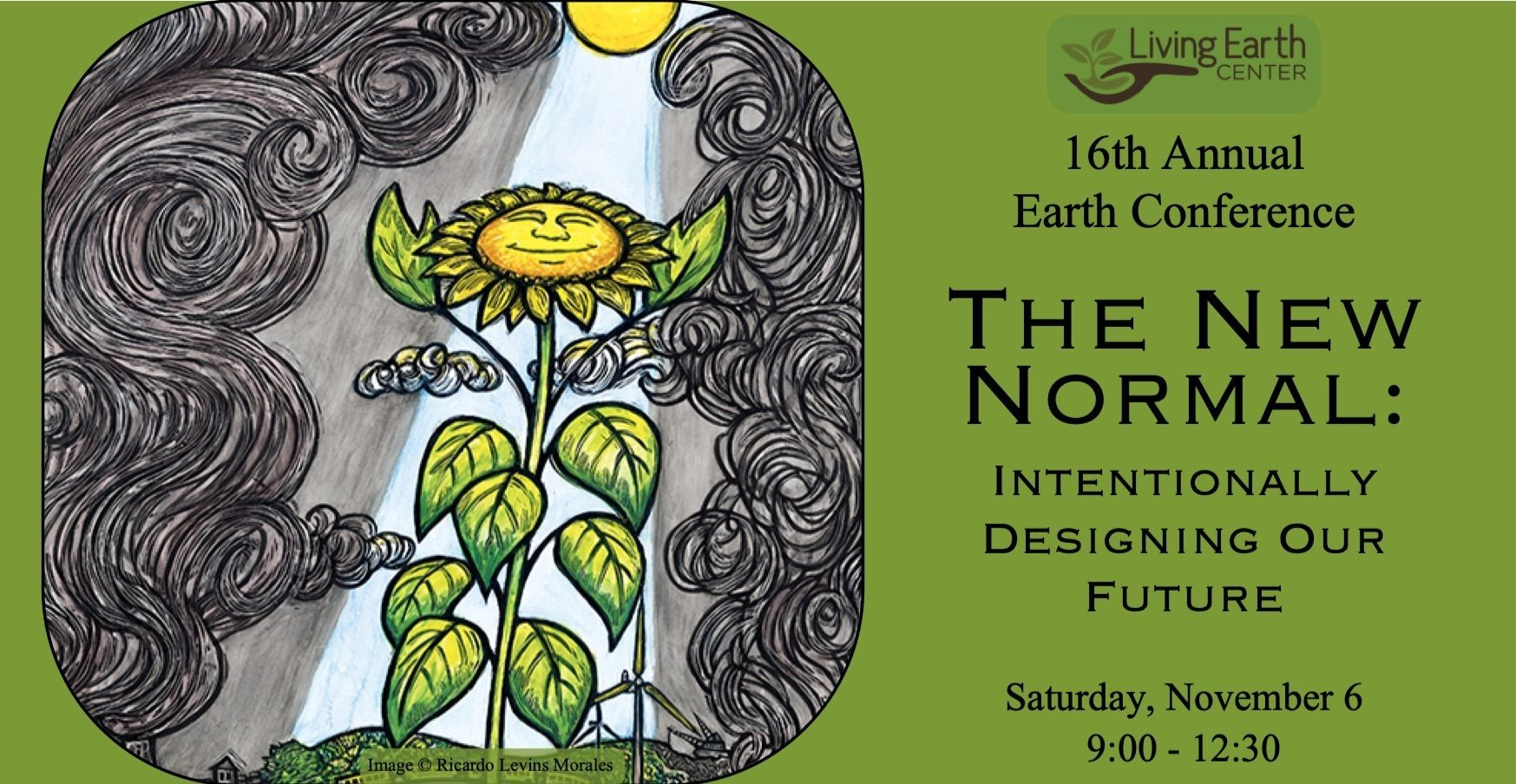 Save the Date - 16th Annual Earth Conference