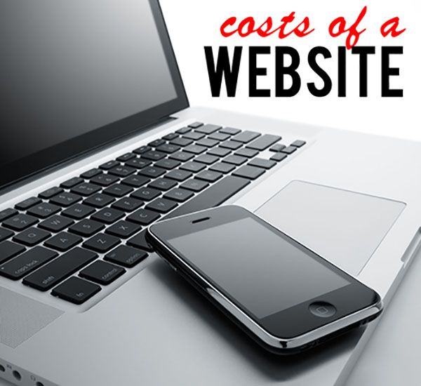The Four Basic Components of a Website & Their Costs